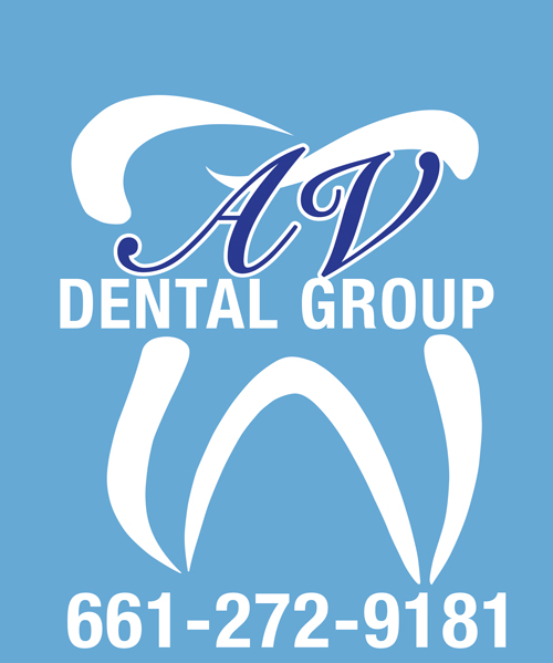 Av dental group logo and t shirts proof av graphix for T shirt printing in palmdale ca