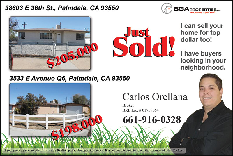 Bga properties carlos orellana sold postcards proof for T shirt printing in palmdale ca