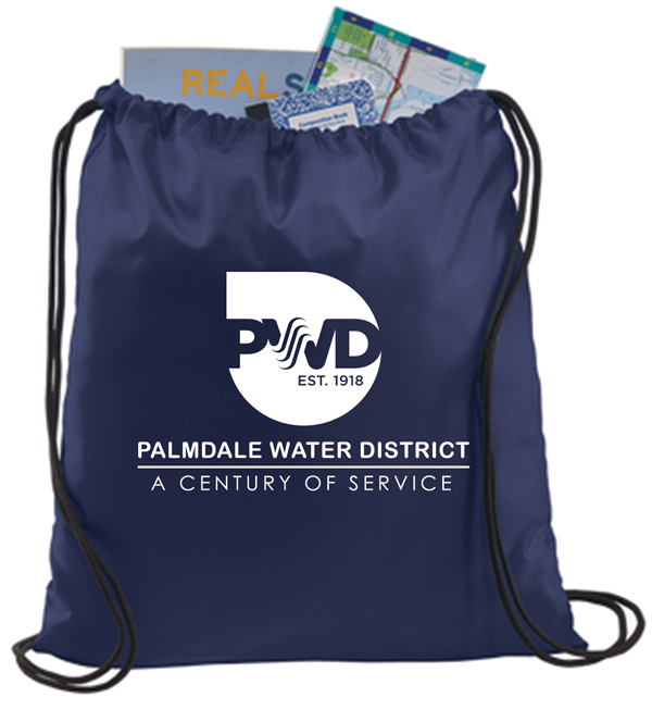 Palmdale water district cinch pack proof av graphix for T shirt printing in palmdale ca