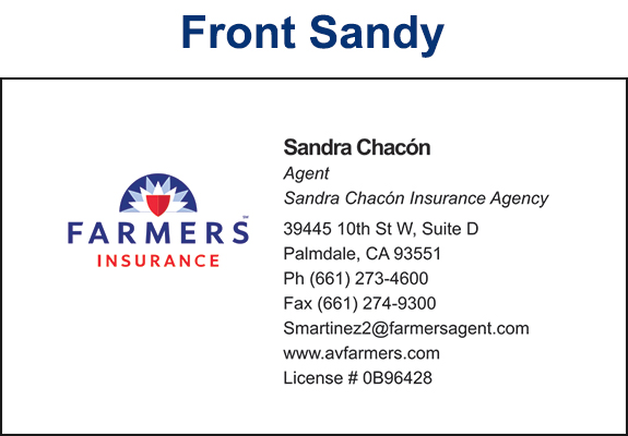 Farmers insurance west palmdale business cards proof av graphix farmers insurance west palmdale business cards proof colourmoves